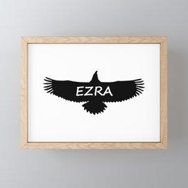 Ezra Eagle Framed Mini Art Print