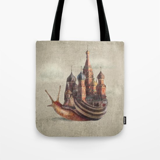 The Snail's Daydream Tote Bag