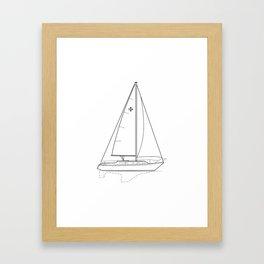Islander 36 Framed Art Print
