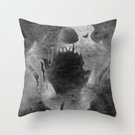 Ether Bear Throw Pillow