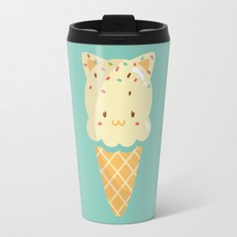 Vanilla Ice-cream Travel Mug
