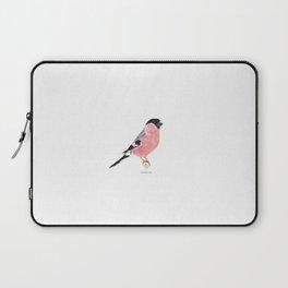 Siberian Bullfinch (white palette) Laptop Sleeve