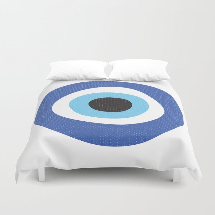 Evi Eye Symbol Duvet Cover