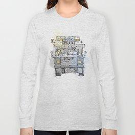 Meat Wagon Police Service Northern Ireland Long Sleeve T-shirt