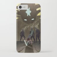 shadow of the colossus iPhone & iPod Cases featuring Shadow of the Colossus - Illustration by Kim Herbst