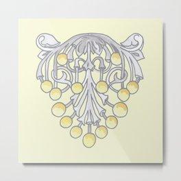 Mimosa Metal Print