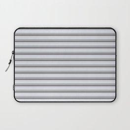 Gray stripes Laptop Sleeve