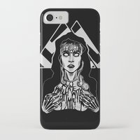 laura palmer iPhone & iPod Cases featuring She's Filled with Secrets - Laura Palmer - Twin Peaks by Alice Rogers
