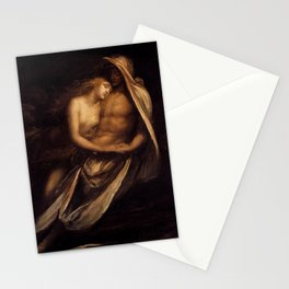 Paulo and Francesco by George Frederick Watts Stationery Cards