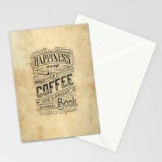 Coffee - Typography v2 Stationery Cards