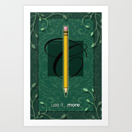 USE IT Art Print