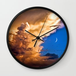 Fabulous Sky VIII Wall Clock