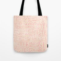 sister Tote Bags featuring Sister by CatDesignz