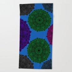 My Angel Spirit Mandhala | Secret Geometry Beach Towel