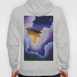 Soaring Through the Clouds -The Groundbird Hoody