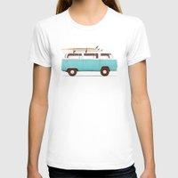 van T-shirts featuring Blue Van by Florent Bodart / Speakerine