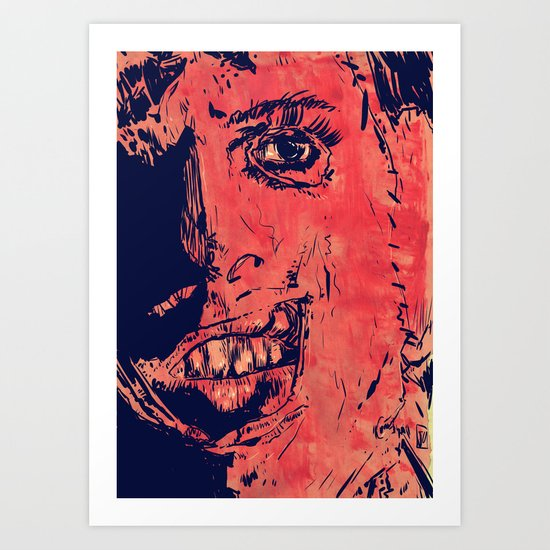 Icons: Leatherface Art Print