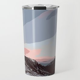 Beautiful sunrise in Andorra Travel Mug