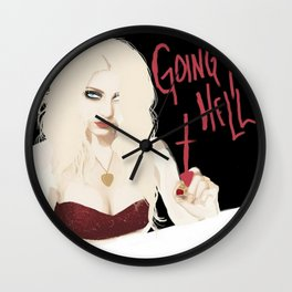 Taylor Momsen Going to hell. Wall Clock