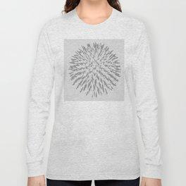 Spiked Flower 3 Long Sleeve T-shirt