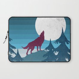 Wolf in the woods Laptop Sleeve