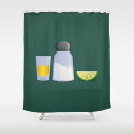 Tequila Shower Curtain