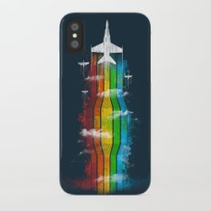 Colored Flight iPhone X Slim Case