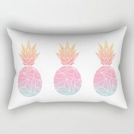 Beeniks Rays Pineapple Rectangular Pillow