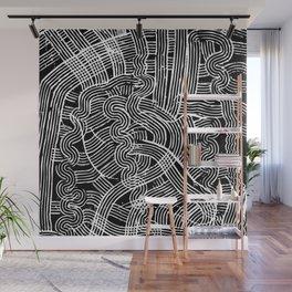 Fork Waves Wall Mural
