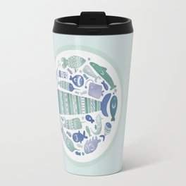 Little Fishes Travel Mug