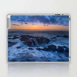 Thor's Well at Sunset Laptop & iPad Skin