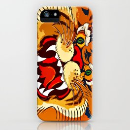 Tibetan Tiger iPhone Case