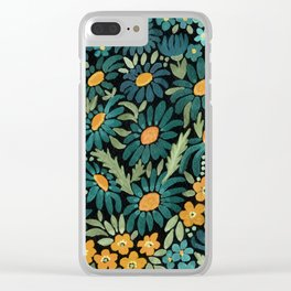 Watercolor . Chamomile field. 2 Clear iPhone Case