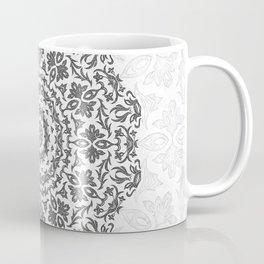 Bohemian Glittering Floral Mandala Coffee Mug