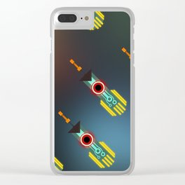 Transistor Swords Clear iPhone Case