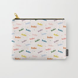 Um Babe? Carry-All Pouch