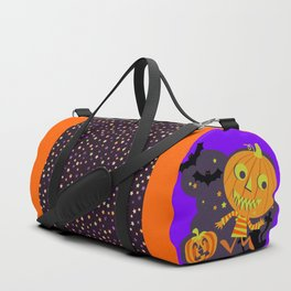 halloween jack pumpkin Duffle Bag