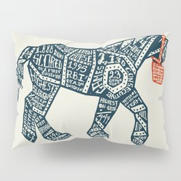 Iron Horse Pillow Sham