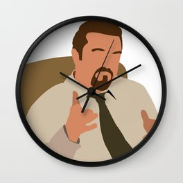 David Brent - The Office Wall Clock