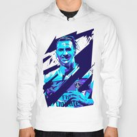 zlatan Hoodies featuring Zlatan Ibrahimović : Football Illustrations by mergedvisible