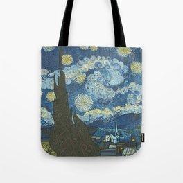 Swirly Night Tote Bag