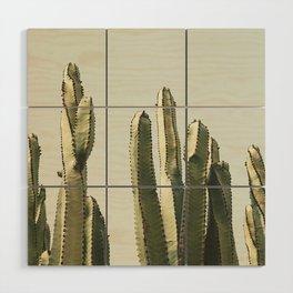 Desert Cactus 2 Wood Wall Art