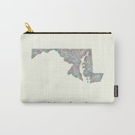 Maryland map Carry-All Pouch