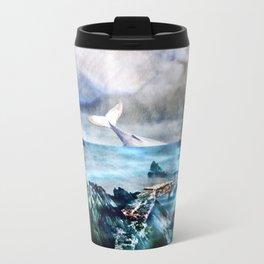 White Whale Travel Mug