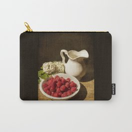 Summer day with raspberries Carry-All Pouch