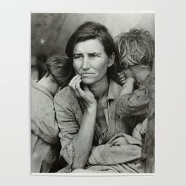 Migrant Mother (National Geographic) Poster