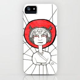Angry Ninja iPhone Case