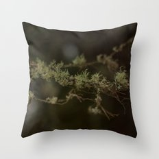 Tree Fuzz Throw Pillow