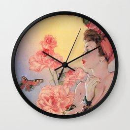 Dreaming Rose  Wall Clock