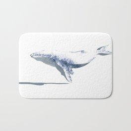 white whale Bath Mat